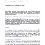 Beerntungs- und Behandlungsmaßnahmen von Saatguterntebeständen der Eiche zur Optimierung der Saatgutqualität