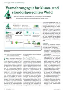 FitForClim - Vermehrungsgut für klima- und standortgerechten Wald
