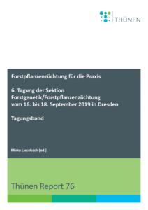 Ein Vergleich von Absaaten europäischer Hybridlärchen-Samenplantagen